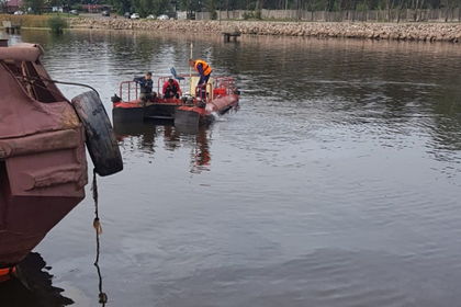 В Ленинградской области произошел разлив нефтепродуктов
