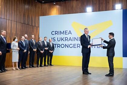 В России призвали ввести санкции против участников «Крымской платформы»