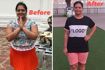 Женщина сбросила 19 килограммов за 12 недель и раскрыла четыре секрета похудения