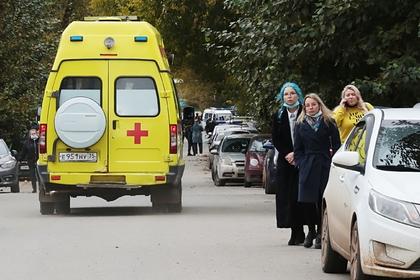Принято решение о транспортировке пострадавших в пермском вузе в Москву