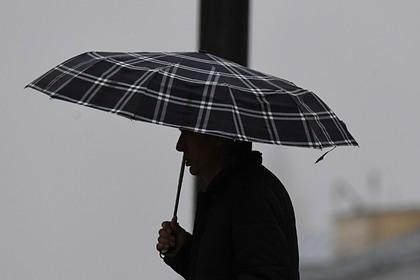 Москвичам пообещали дождливую погоду