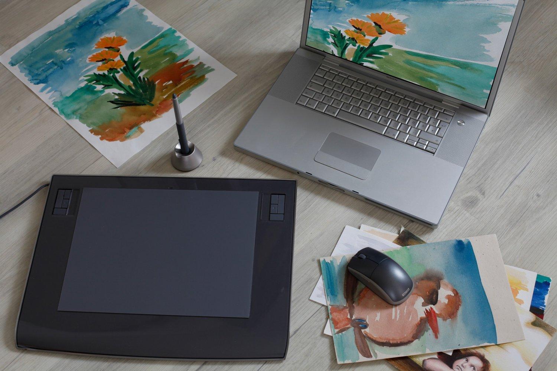 Как научиться рисовать на графическом планшете