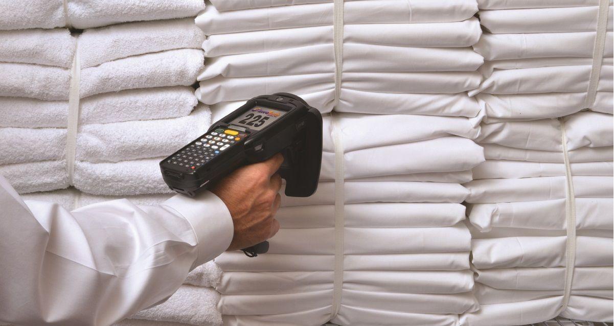 RFID системы для контроля бельевого фонда в прачечных, отелях и фитнес залах